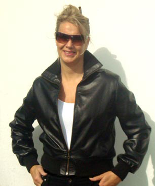 Ladies leather bomber jackets uk – New Fashion Photo Blog